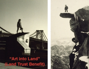 """Art into Land"", (a mini Tower retrospective)"
